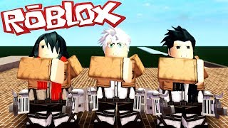 FOR HUMANITY ? ATTACK ON TITAN ROBLOX