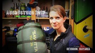 Ausrüstung 2017 / Vanessa Blank - Outdoor Bavaria Gear Update 2.0 - Bushcraft & Survival