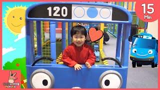 타요 키즈 카페 어린이 놀이 모음 ♡ 꼬마버스 타요버스 자동차 장난감 тайо автобус Игрушки Tayo kids cafe toy | 말이야와아이들 MariAndKids