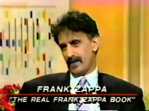 frank zappa the real frank zappa book interview 1989 youtube. Black Bedroom Furniture Sets. Home Design Ideas