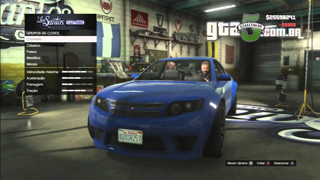 Cheval Fugitive (GTA V) - YouTube