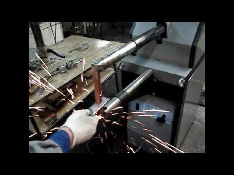 Как согнуть стальной лист, оцинковку без листогиба - YouTube
