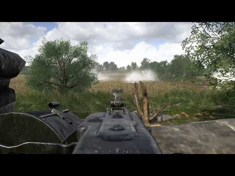 Hell Let Loose - MG42 Farmhouse Defense [GER Comms/ENG Subs] |