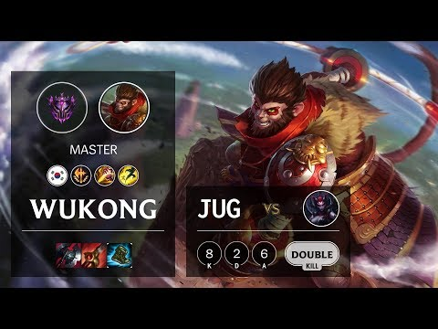 Wukong Jungle Vs Elise - KR Master Patch 10.6