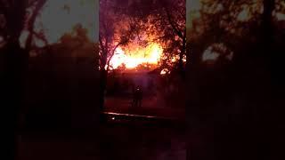 Пожар в Ерейментау