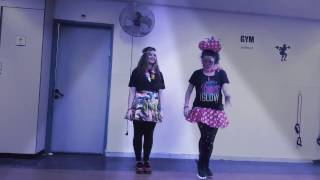 Zumba® fitness class with Dorit Shekef - Despacito Luis Fonsi Ft. Daddy Yankee (Purim 2017)