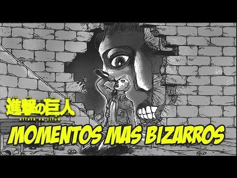 MOMENTOS MÁS BIZARROS DE SHINGEKI NO KYOJIN (MANGA)