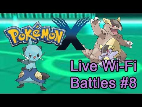 Pokémon X Live Wi-Fi Battles #8