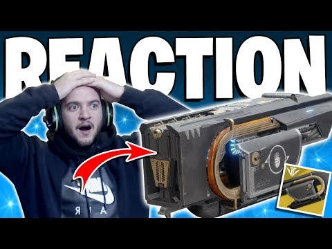 Destiny 2 - My Reaction To Getting Jötunn 1st Try / Live PvP Gameplay - New Jotunn Exotic thumbnail