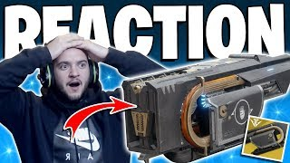 Destiny 2 - My Reaction To Getting Jötunn 1st Try / Live PvP Gameplay - New Jotunn Exotic