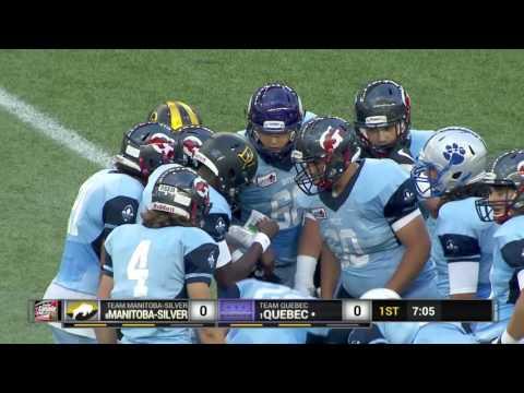 2016 Football Canada Cup   Quebec vs Manitoba Silver