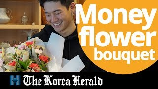 Adding the smell of money to bouquets of flowers