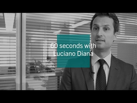 60 seconds with Luciano Diana - Pictet Asset Management