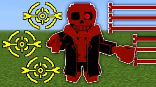 Sudden Changes Sans in Minecraft | Minecraft Undertale
