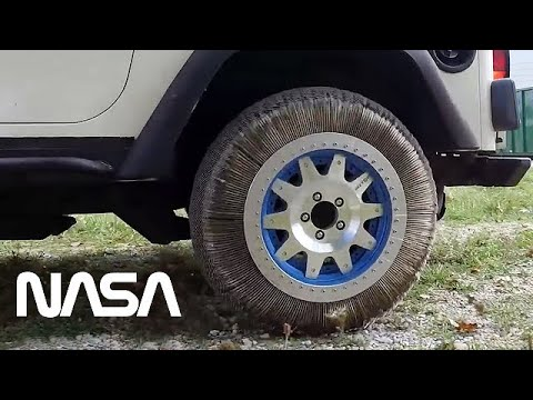 NASA Reinvented The Wheel - Shape Memory Alloy Tires