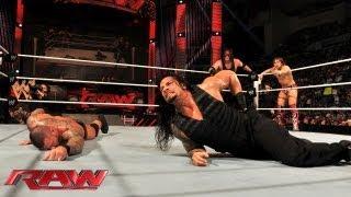 Raw - Randy Orton & Team Hell No vs. The Shield: Raw, June 3, 2013