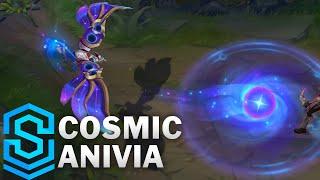 Cosmic Anivia Skin Spotlight - Pre-Release - League of Legends