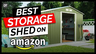 Top 10 Storage Sheds on Amazon 2019