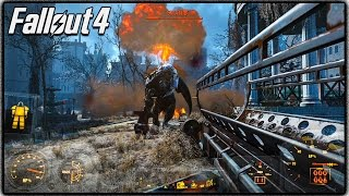 Fallout 4 FREE ROAM GAMEPLAY Level 25, Vault Exploring MORE No Spoilers