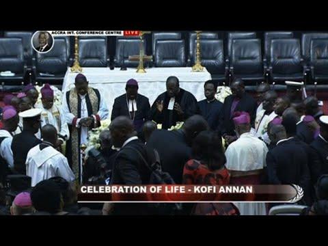 World leaders attend Kofi Annans state funeral in Ghana