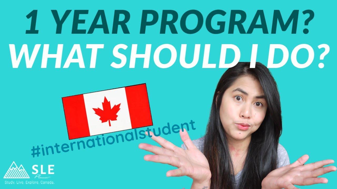Download BEWARE!!! IS 1 YEAR PROGRAM WORTH IT? International students in Canada -1 year or 2 year program