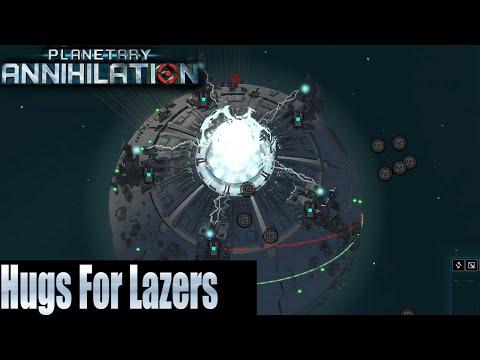 Planetary Annihilation 4v4 Team Game - Hugs For Lazers