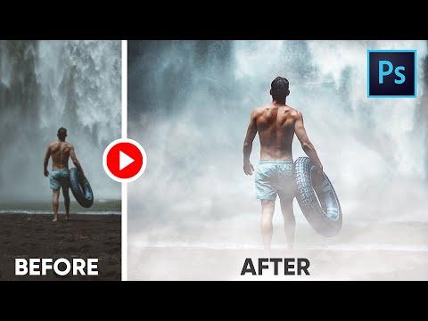 Fog Photoshop Photo Effect with FREE Fog Overlays - Photoshop Tutorial thumbnail