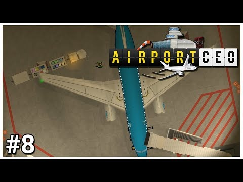 Airport CEO - #8 - Conveyor Completion - Let's Play / Gameplay / Construction