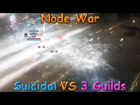 8 Guilds for 1 Node ... | Node War(t1) | Black Desert Online.