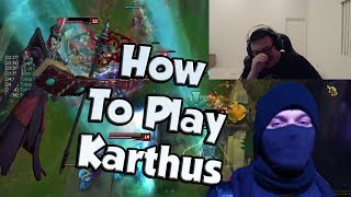 Tobias Fate Shows How to Play Karthus | Scarra's Game Disappears - LoL Funny Stream Moments #178
