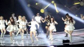 Mnet Asian Music Awards in Singapore 2011- SNSD, The Boys remix