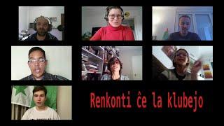 Renkonti ĉe la klubejo dum la kvaranteno (Mallonga filmo en Esperanto)