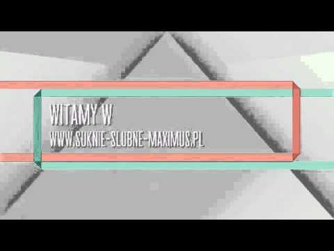 8d45ae0873 Suknie ślubne Maximus - YouTube