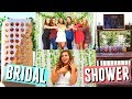 MY BRIDAL SHOWER! OUTFIT IDEAS, MAKEUP + HAIR WEDDING SHOWER! Games, Decorations + DIY Ideas!