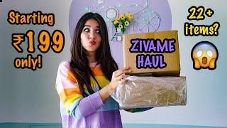 *HUGE HAUL* I bought over 20 items from Zivame!!!😳 STARTING ₹199 ONLY😍 🥳 | #HeliHauls | Heli Ved