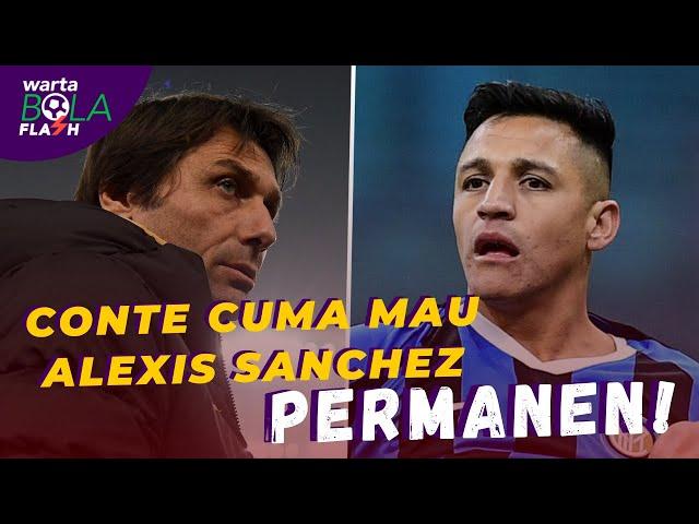 Inter Milan Ingin Permanenkan Alexis Sanchez 🙈 Mariano Diaz Positif Corona Usai Liburan 😱