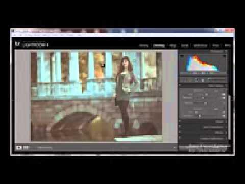 Модное тонирование фото в Lightroom (онлайн урок
