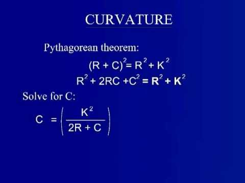 Curvature and Refraction