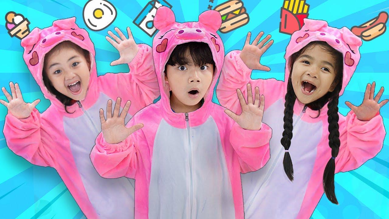 Learn Colors Baby Pig Animals Song | Suri & Sammy Sing-along Nursery Rhymes & Kid Songs