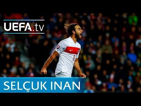 Selçuk İnan goal: Turkey v Iceland EURO 2016 qualifying