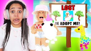 LOST IN ROBLOX ADOPT ME!!!!