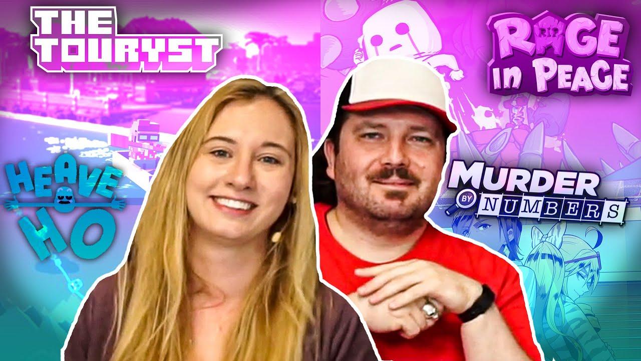 Rage in Peace, The Touryst & Co | Sarah & Matti präsentieren herrlich schwere Gaming-Tipps