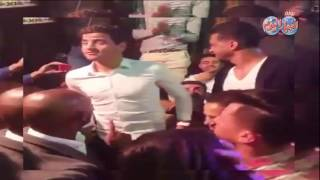 أخبار اليوم |لاعبى الزمالك يرقصون شعبى في حنه باسم مرسى