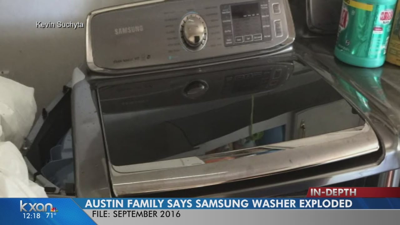 Samsung issues recall for 'exploding' washing machines