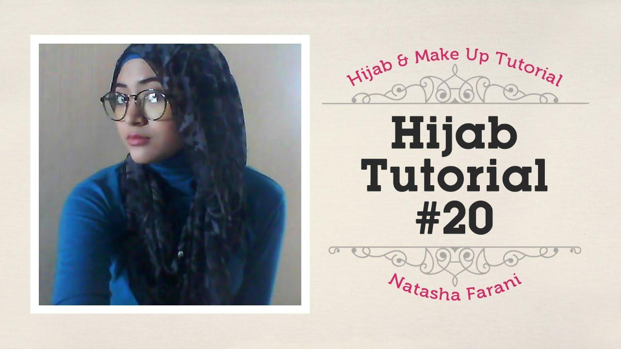 Hijab Tutorial Natasha Farani 20 YouTube