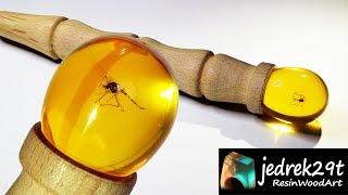 Jurassic Park Mosquito in Amber Resin / ART RESIN