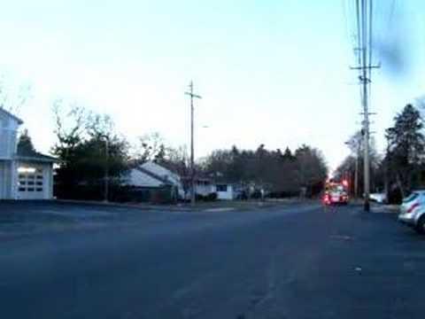 Blauvelt Fire Department 1-2001 Responds On A Run 2/9/07