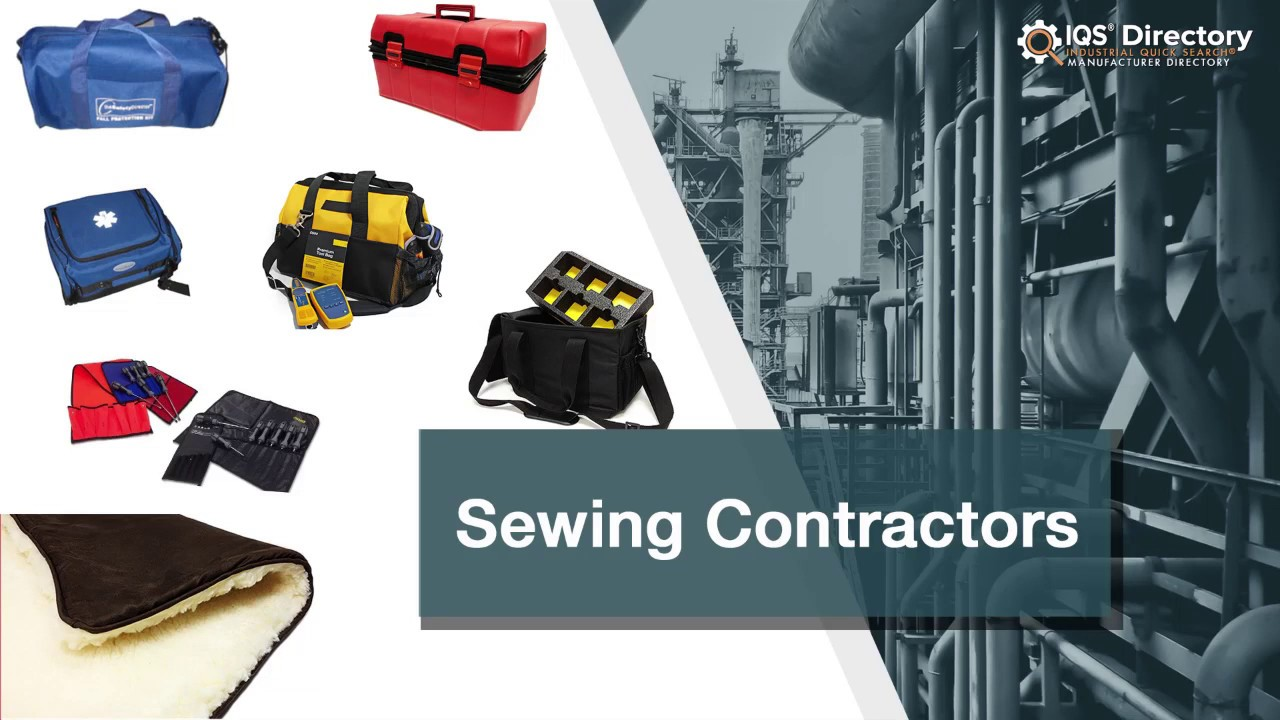 Sewing Contractor Manufacturers Suppliers