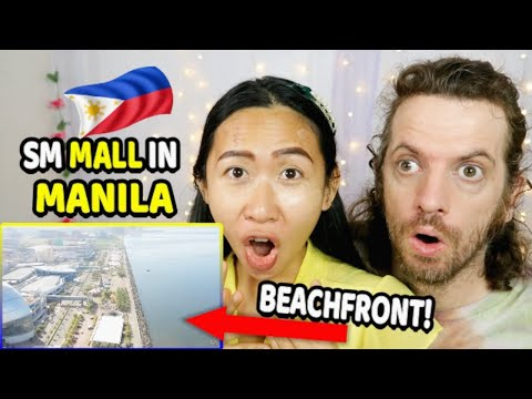 Filipino Shopping Malls are INSANE | Mall of Asia in Manila, Philippines | THAI-CANADIAN REACTION