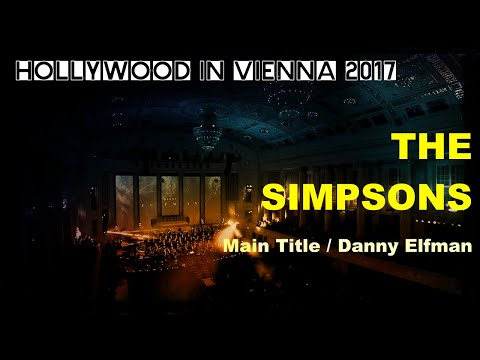 THE SIMPSONS by Danny Elfman [Hollywood in Vienna 2017]